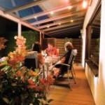 Wetterschutz-Terrasse